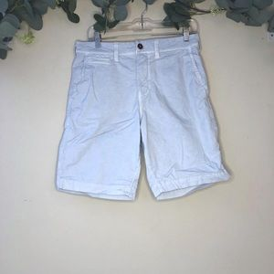 AMERICAN EAGLE Mens Shorts Baby Blue Chino